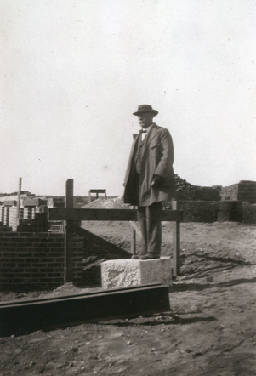 Louis F. Bell, South County Hospital groundbreaking.