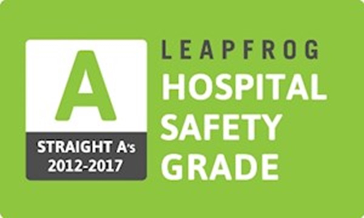 Quality and patient safety earn South County Health straight A's