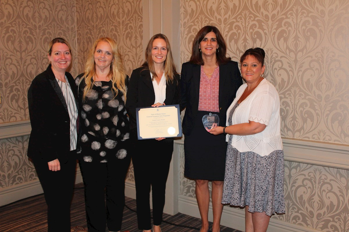 South County Health named Healthiest Employer by PBN