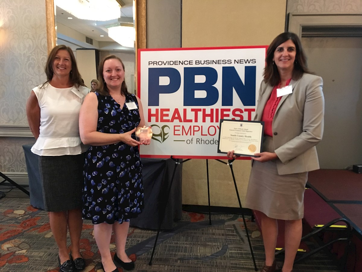 SCH Human Resources at the PBN Healthiest Employers Awards Ceremony