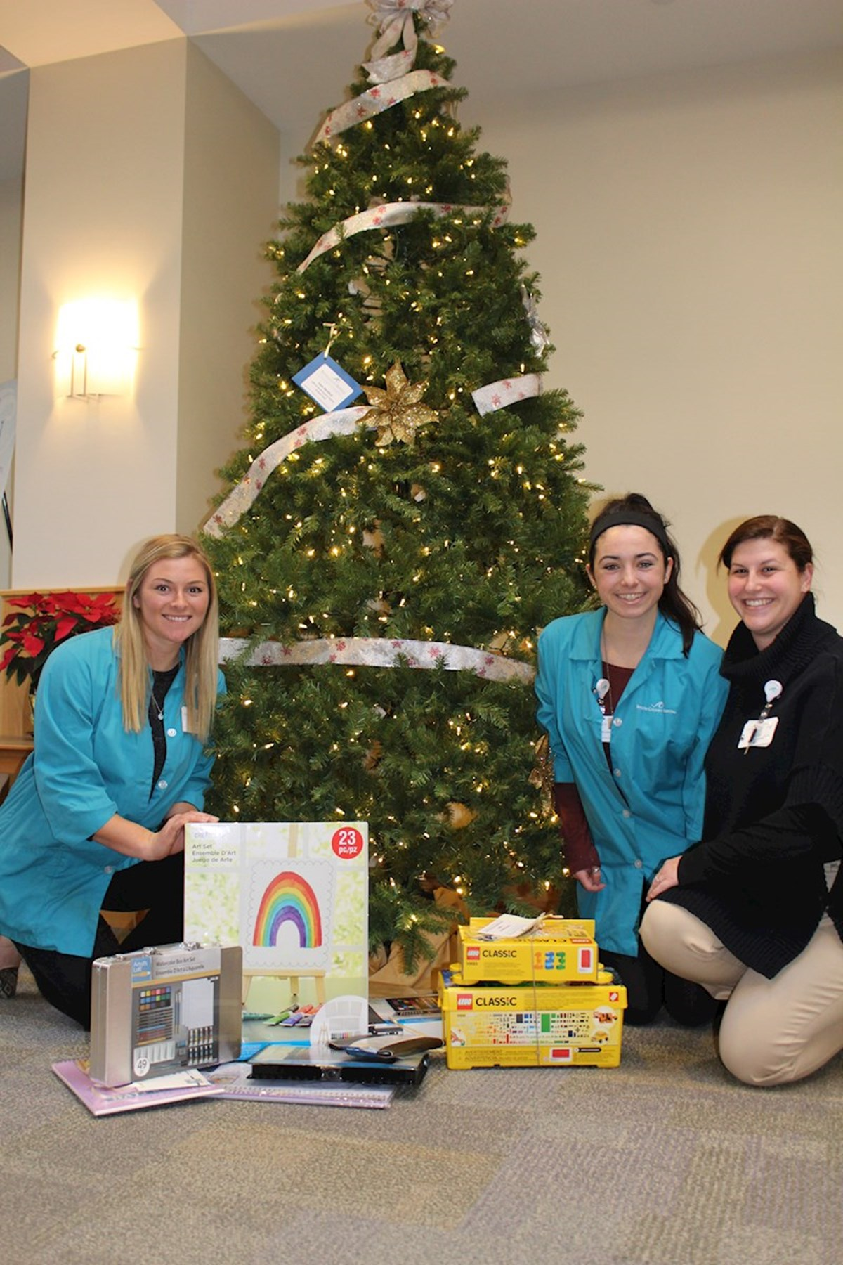 South County Hospital celebrates the season of giving, by giving