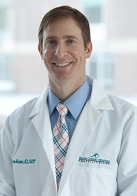 Portrait of Aaron K Weisbord MD, FACC, President of Medical Staff